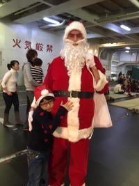 サンタクロースと写真.JPG
